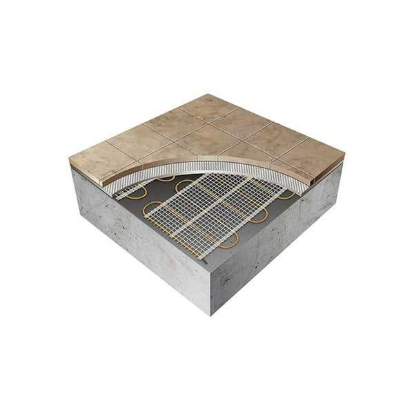 ThermoTile In-Floor Heating Mat for Ceramic & Stone Tile - Many Sizes Available